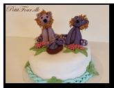 Se de flotte kager som børnene selv har lavet