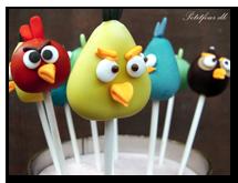 Popcakes eller cakepops superlækre og sjove kun fantasien